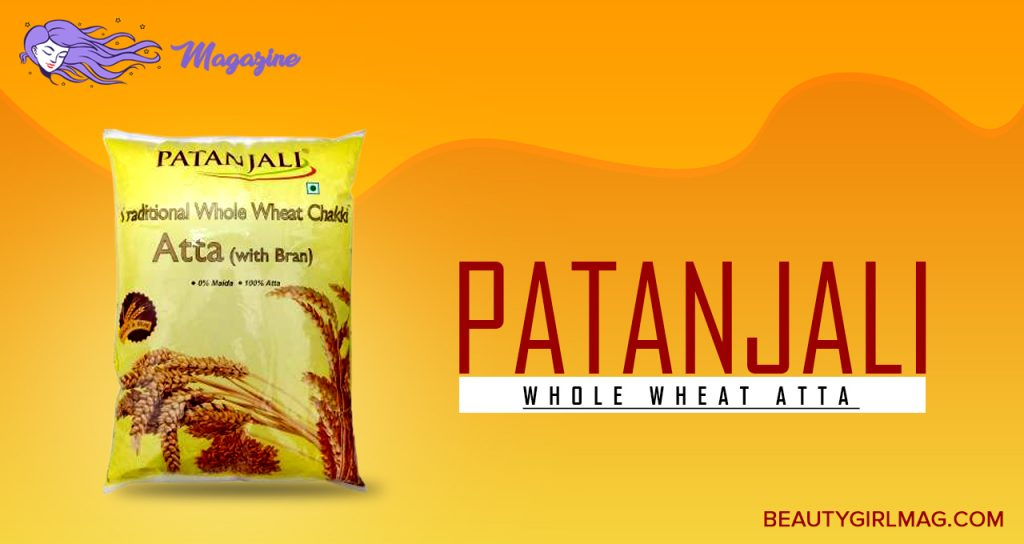 Patanjali Whole Wheat Atta