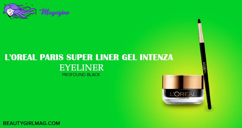 L'oreal Paris Super liner Gel Intenza Eyeliner (Pround black)
