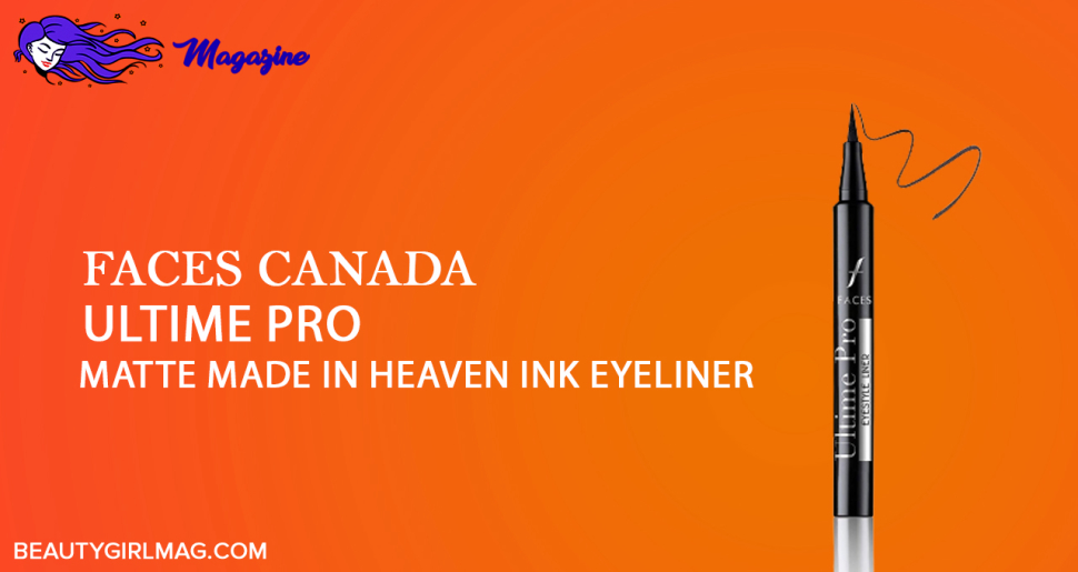 Faces Canada Ultime Pro A Matte (made in heaven ink liner black)