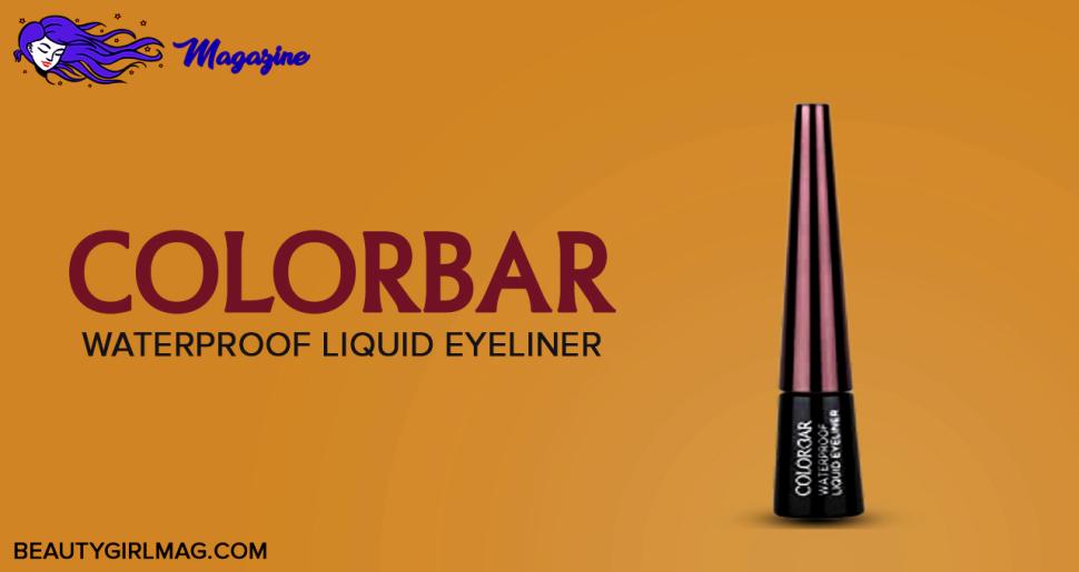 Colorbar Waterproof Liquid Eyeliner (black)