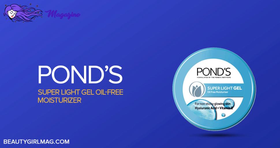 Ponds Super Light Gel Oil-Free Moisturizer
