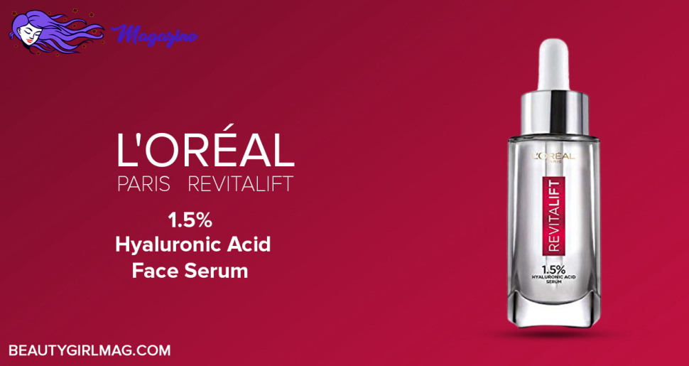 L'Oréal Paris Revitalift 1.5% Hyaluronic Acid Face Serum
