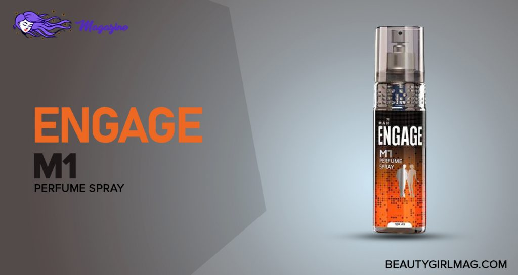 Engage MI Perfume Spray For Men (Citrus and Woody, skin friendly)